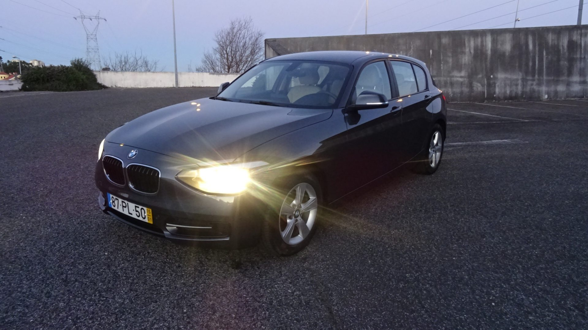 BMW 116d Efficient Dynamics Line Sport (5p)